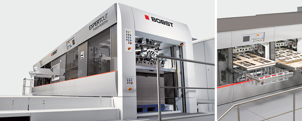 Our new Bobst 145 Die Cutter